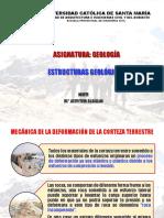 Estructuras Geológicas 2018