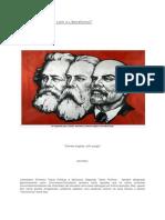 O Marxismo Rompe Com o Liberalismo