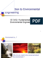 1 - Introduction to Env Eng