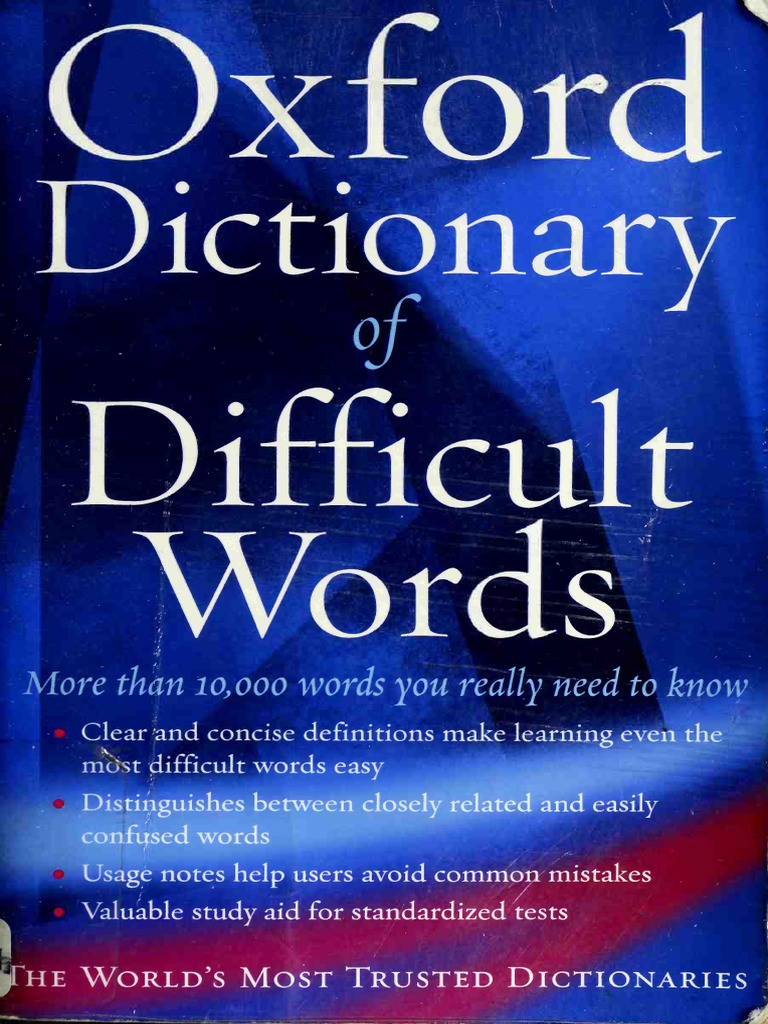 The Oxford Dictionary of Difficult Words - Facebook Com