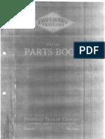 G-221 Parts Book - Deel 1