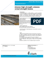 MSc_002 Connections Between High Strength Columns and Normal Strength Beams