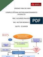 Diagrama Flujo Mantenimiento Ok