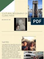 culture biography of clara