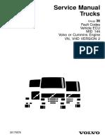 volvo fh12 Mid 144 Vehicle Ecu