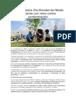 Bolivia Celebra Día Mundial Del Medio Ambiente Con Retos Contra Contaminación