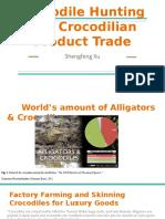 crocodile hunting and crocodilian product trade