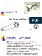 Belt and Chain Drive With Pics and Example