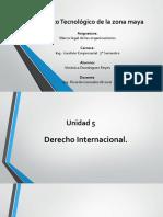 Unidad 5 Derecho Internacional