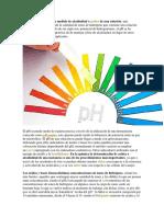 Ph Definicion y Como Medirlo