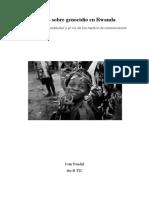 Ensayo Sobre Genocidio en Rwanda