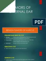 Tumors of External Ear