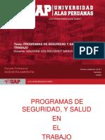 Semana 3 .- Programas de Seguridad y Saludo en El Trabajo