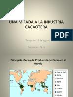 Elena Melendez Cardenas - Una Mirada a La Industria Cacaotera