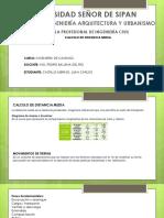 Castillo - Calculo de Distancia Media