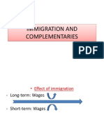 Immigration and Complementaries
