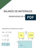 3 Balance de Materiales GAS