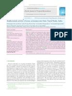5. Saravana Et Al (2012) Actinomicetos Productores de Antibióticos