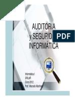 04 - Auditoria y Seguridad Informatica