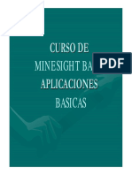 Manual MineSight BASICO