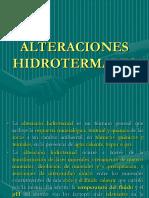 Alteraciones Hidrotermales GEOLOGIA II Exa2ppt