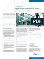 What's New in ITIL V3