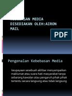 Kebebasan Media