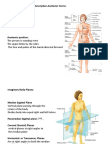 Anatomy, Lecture 1, Inroduction to Anatomy (slides)