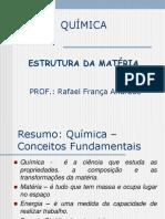 Estrutura da matéria - Revisão