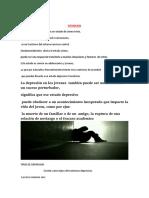 DEPRESION JUVENIL UTP