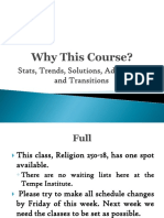 Why This Course Jesus Christ and the Everlasting Gospel