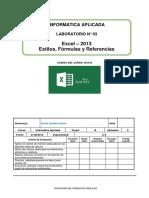 Lab 03 -Estilos, Fórmulas y Referencias