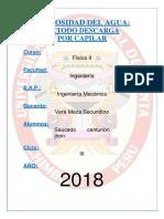 269854818 Viscosidad Del Agua PDF