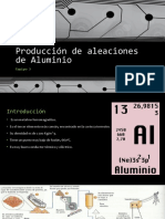 Producción de Aleaciones de Aluminio