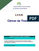 CA Tireoide Aula Liga Onco Cabeça Pescoço