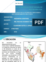 Dinamica Poblacional de La Ciudad Chincheros