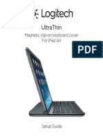Logitech Ultrathin iPad Air