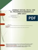 El Trabajo Social en El Cmi El Progresocarabayllo (1)
