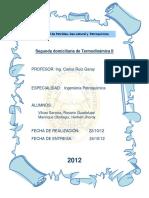 Segunda Domiciliaria de Termodinámica II