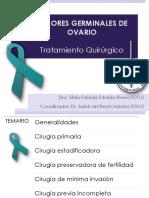 tumor germinal de ovario
