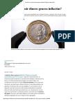 Economía_ ¿Imprimir Dinero Genera Inflación