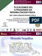 6b Aplicaciones del Ultrasonido en Rehabilitacion Fisica (Dra Erika Sanchez-UVM).pdf