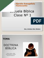 clasebiblica1unicidaddedios-120627144905-phpapp02