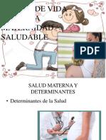 Estilos de Vida Para Una Maternidad Saludable