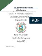Justificacion Para La Ins Talc Ion de Hyper v Server en Un Servidor HP