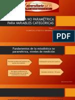 Estadística No Paramétrica Para Variables Categóricas