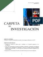 Carpeta de Investigacion- Carátula