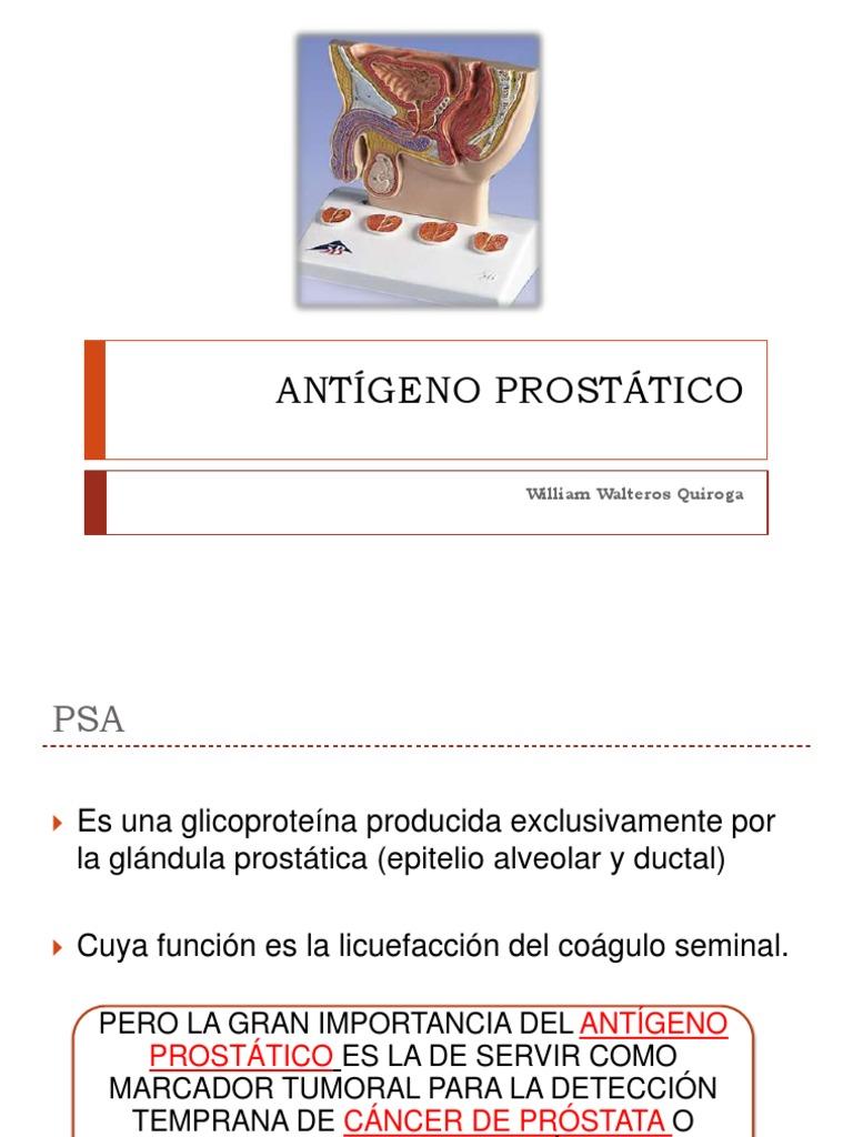 marcador tumoral prostata