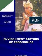 3.Ergonomics and Environment.