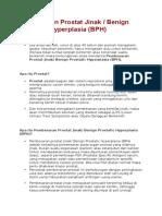 BPH Pembesaran Prostat Jinak